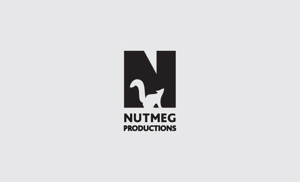 Nutmeg Productions logo by Ascend Studio #logo #illustration #identity #logos