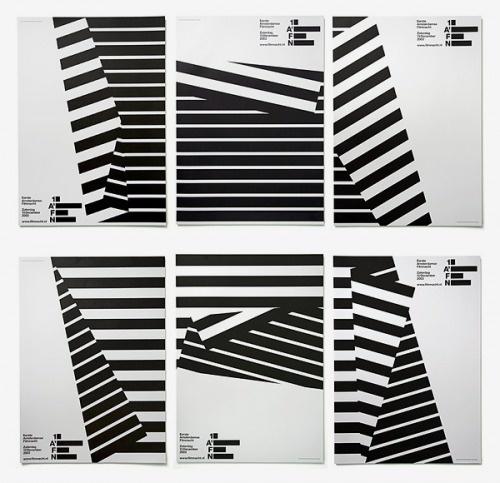 Experimental Jetset | Sgustok Design #1afn #white #lines #design #experimental #black #poster #and #jetset