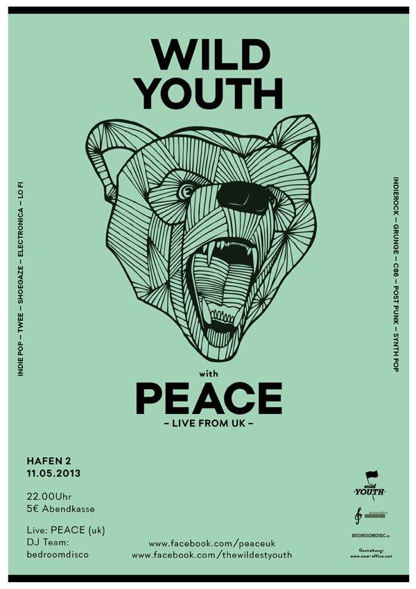 Wild Youth – Indie Konzertreihe © New Office