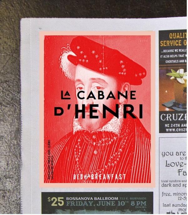 La cabane d'Henri on Behance #design #graphic #identity