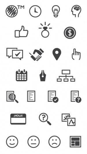 Garuda icons by conBdeBolio #icon #glyphs #icons #iconography