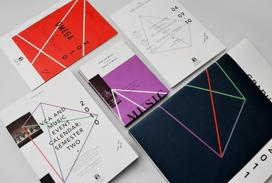 Axel Peemoeller - Victorian College of the Arts and Music #print #identity #branding