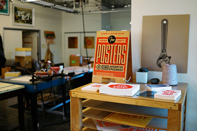 Facebook Posters & Ephemera | The Design Portfolio of Ben Barry #wood #posters #signs