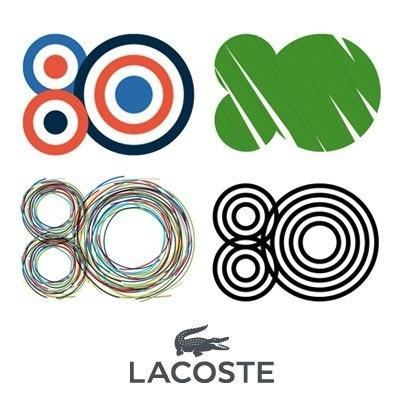 Lacoste 80 years #logotype #lacoste #branding #saville #inspiring #peter #brand #logo