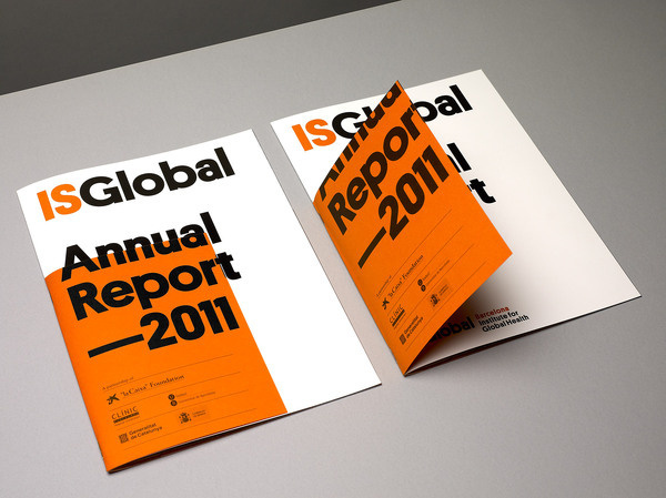 Mucho IsGlobal #print #editorial #report #annual
