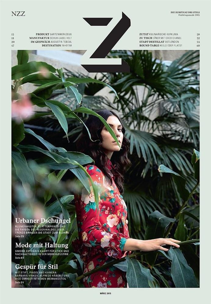 cover of Z Magazine