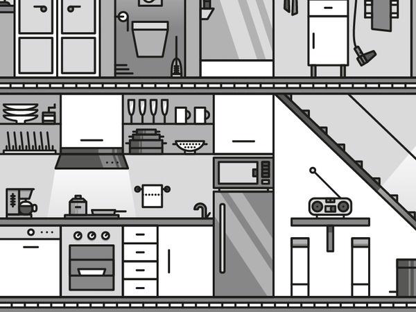 Kitchen #illustration