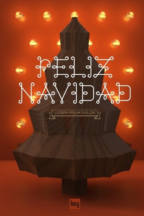 Feliz Navidad 2011-2012 on the Behance Network #christmas