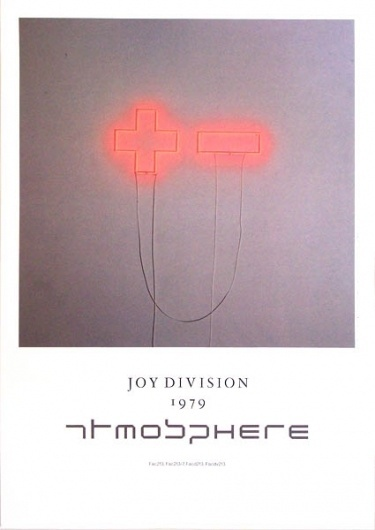 atmosphere.jpg (425×600) #poster #music #joy #division #typography