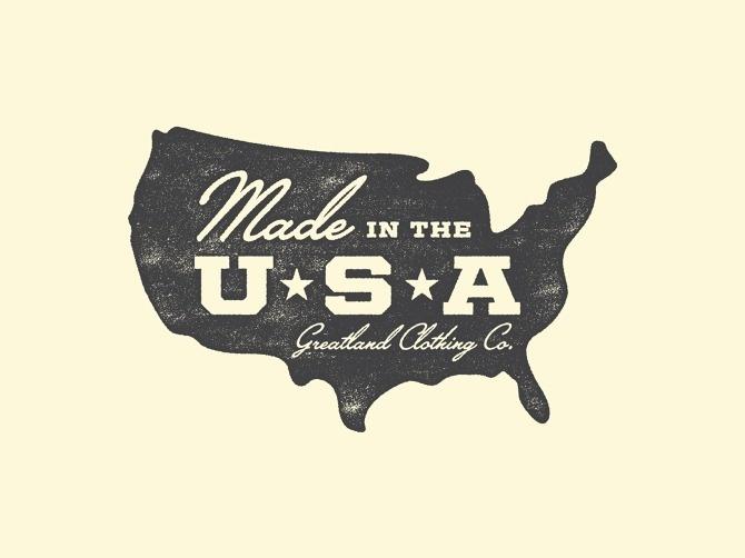Greatland - Allan Peters #logo #badge #typography