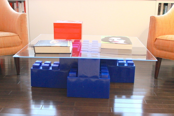 Modular block coffee table #table #coffeetable #diy
