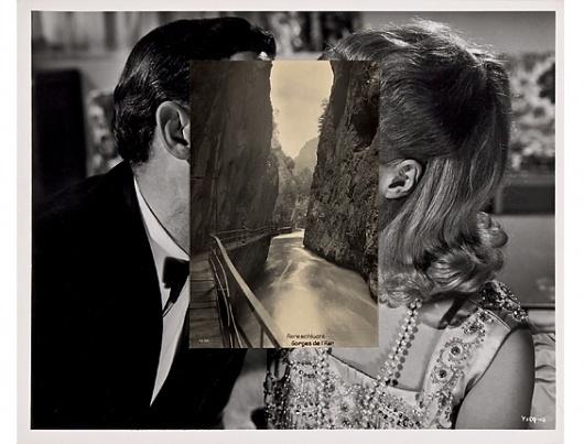 why not? » John Stezaker #stezaker #juxtapositions #photography #john
