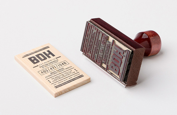 BDH Business Cards #stamp #bdh #cards #business