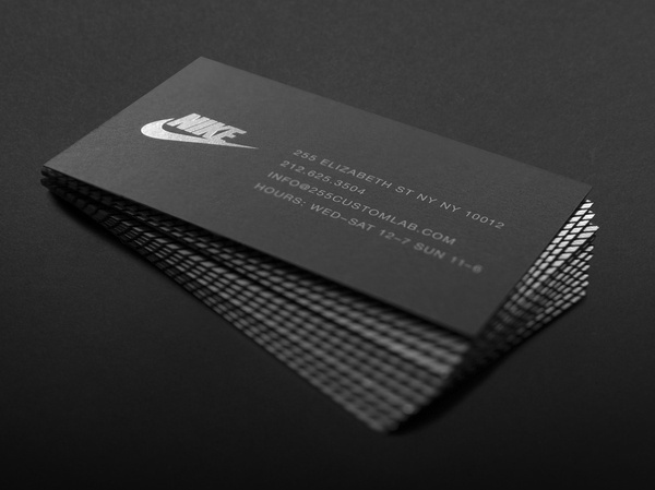 Best business card nike 255 collateral images on designspiration nike 255 collateral2 card business foil colourmoves