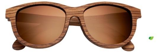 Shwood | Wood Sunglasses | Neskowin | Zebrawood #glasses #neskowin #sunglasses #wood #brown #shwood #polarized