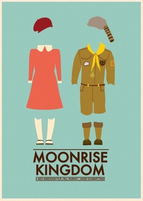 Curio: Alternative Moonrise KingdomPosters - Blog - The Film Experience #laura #perm #jardin