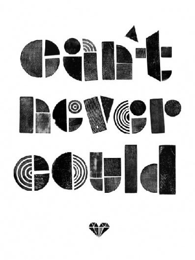 grain edit · Ryan Rhodes / Bigger than Giants #illustration #typography