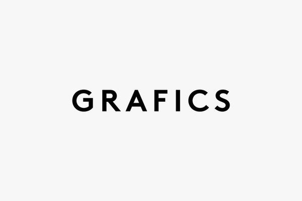 GRAFICS, Research Center in cinema. #logotype #font #branding #id #logo #monogram #brand #identity #custom #type #bw #typography