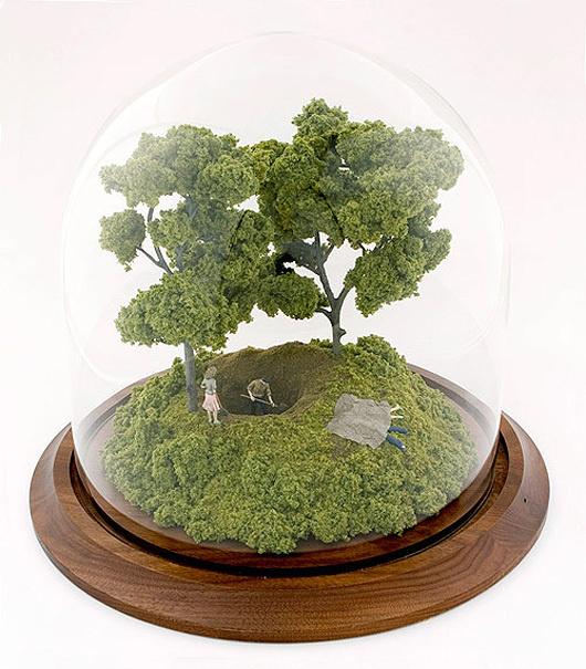 thomas doyle worlds 13 #miniature #diorama #house #art