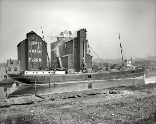 North Star: 1910 | Shorpy Historic Photo Archive #type #lettering #boat