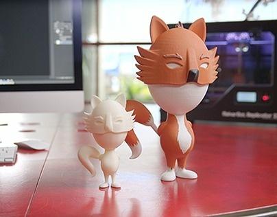 Adobe 3d Printed Toy #print #kidrobot #munny #adobe #dunny #toy #3d
