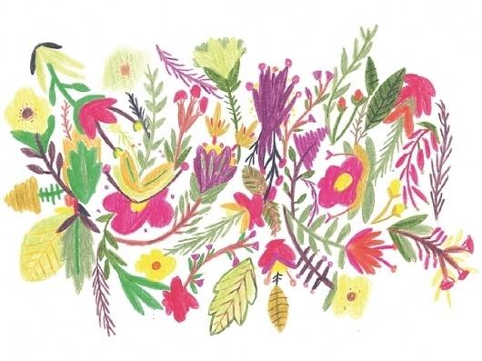 BOSQUE Estudio/Taller La Rebelión de las Masas - #illustration #pattern #flowers