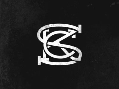 SCK Monogram #lettering #letters #monogram #music #logo #band