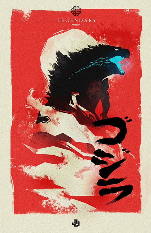 Godzilla Poster by James Diato