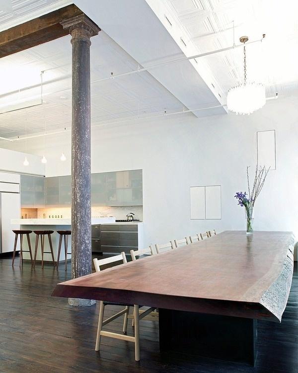 CJWHO ™ (Stunning eclectic 3000 sq ft loft apartment...) #loft #design #interiors #york #apartment #luxury #new