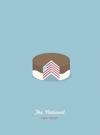 The National #cake #gupta #design #msced #the #dev #violet #poster #national #high #typography