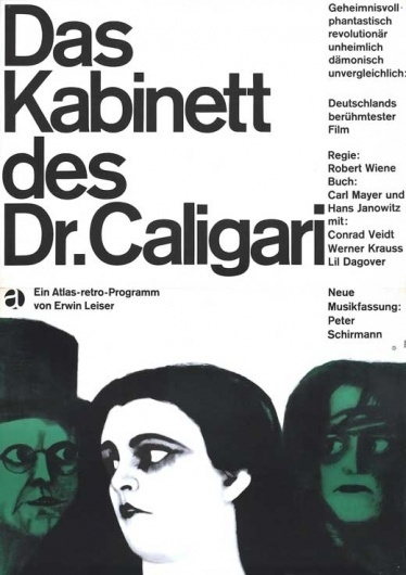 The Cabinet of Dr. Caligari Movie Posters From Movie Poster Shop #swiss #poster #film