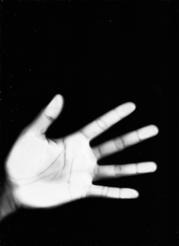 Self Hand #white #black #art #and #scanner
