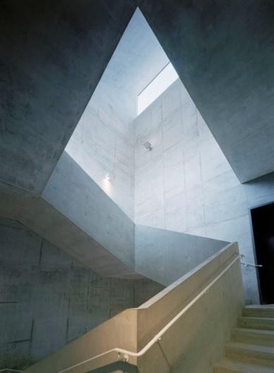 tumblr_lmtef13QIM1qbsx6do1_500.jpg 500×681 pixels #stairs #light #architecture
