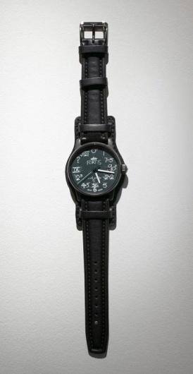 Dezeen » Blog Archive » Fortis IQ watch by Rolf Sachs #clock #chalk #watch