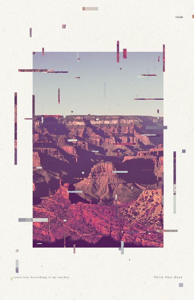 the grand canyon http://monstersareafraid.tumblr.com/post/115142712223/the-grand-canyon #arizona #grand #glitch #collage #canyon #desert