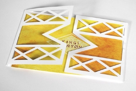 Kings Canyon - Brenna Signe #direct #design #graphic #logo #mail