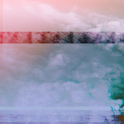 """""""Default Mode Network"""" #clouds #electronic #glitch #sky"""