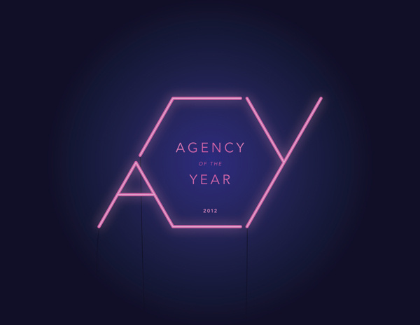 Agency of the Year 2012 #neon