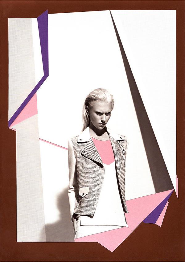 Catalogue de Paris_2 by paulobrandaomelo.com #paris #sandro #color #graphic #shapes #catalogue #fashion #collage #editorial #berlin