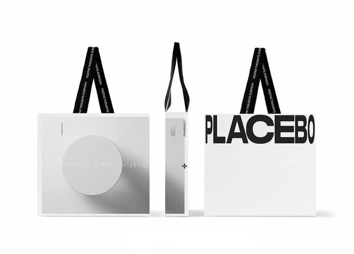 Placebo Pharmacy - Mindsparkle Mag Luminous Design Group was entrusted with the design of the visual identity of Placebo, an iconic, circular pharmacy in Athens, Greece. #logo #packaging #identity #branding #design #color #photography #graphic #design #gallery #blog #project #mindsparkle #mag #beautiful #portfolio #designer