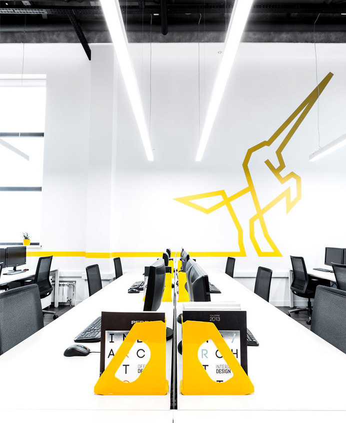 Contemporary Creative Office Space By IND Architects Artistic Modern Work  Space #working #office #