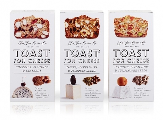 The Fine Cheese Co Toasts for Cheese | Irving & Co #packaging #food