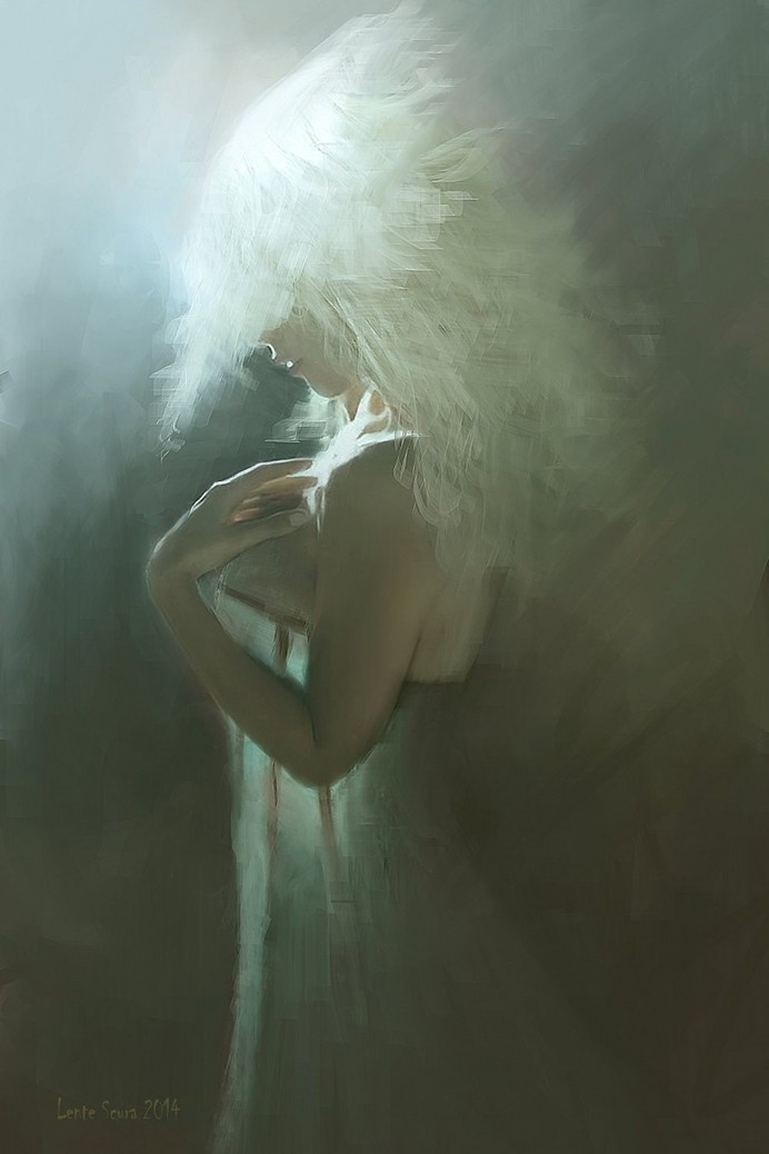 The Queen of Forgiveness #inspiration #painting #art #fine