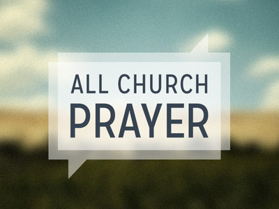 All Church Prayer #prayer