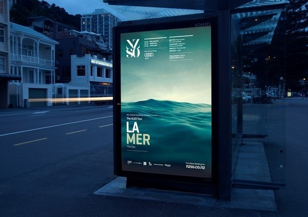 Best Awards - The Church. / New Zealand Symphony Orchestra 2012 Retail Campaign #nzso