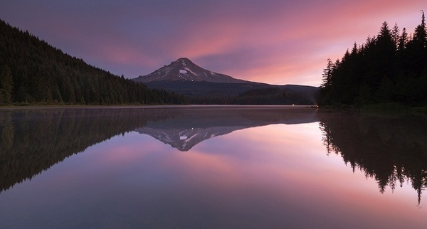 Mt Hood Sunrise by Peter Spencer #inspiration #photography #landscape