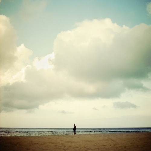 Chip K // #clouds #photography #beach