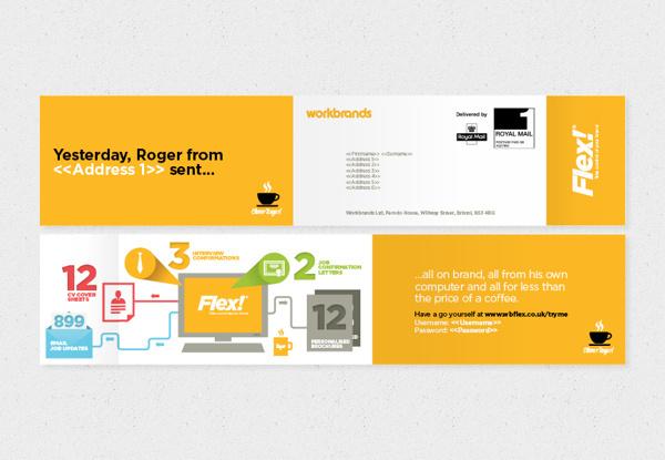 FLEX!® Take control of your brand on Behance #iconset #branding #icon #print #icons #identity #logo #flex