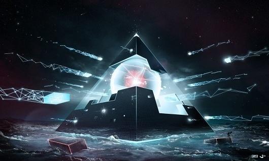SlashTHREE - Viewing Entry - 'The Blueprint' #graphic #art