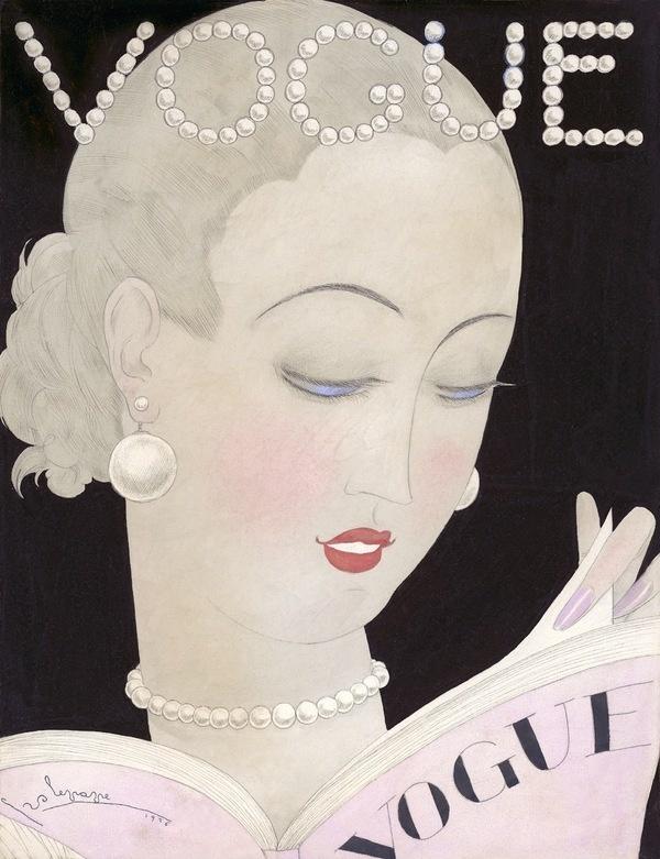 Vogue September 1926 fashion illustration by Georges Lepape #vogue #illustration #vintage #fashion #magazine